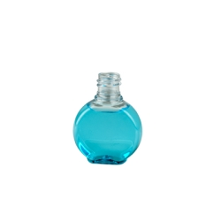 1.25 oz. Clear PET Clock Style Amenity Bottle with 18/415 Neck (Cap Sold Separately)