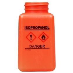 6 oz. DurAstitic™ Orange HDPE Bottle with Isopropanol HCS Label  (Pump Sold Separately)