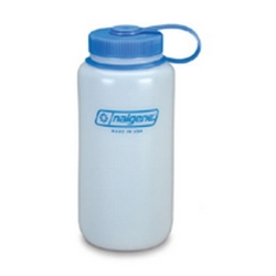 32 oz. Wide Mouth Natural Nalgene ® HDPE Loop Top Bottle