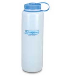 48 oz. Wide Mouth Natural Nalgene ® HDPE Loop Top Silo Bottle