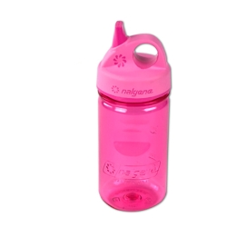 Pink 12 oz. Nalgene ® Tritan™ Grip-n-Gulp™