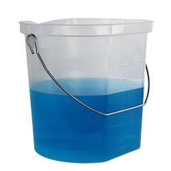 3 Gallon Accu-Pour™ Polypropylene Measuring Bucket