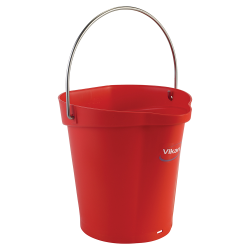 Vikan ® Polypropylene Red 1.5 Gallon Pail