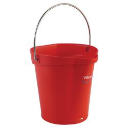 Vikan ® Polypropylene Red 1.5 Gallon Pail