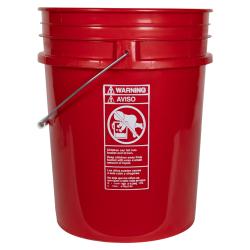 Premium Red 20 Liter Bucket