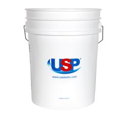 USP Premium White 5 Gallon Bucket