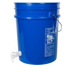 Premium Blue 5 Gallon Tamco ® Modified Bucket with Spigot