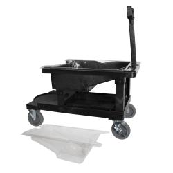 Painter's Tray Dolly Cart