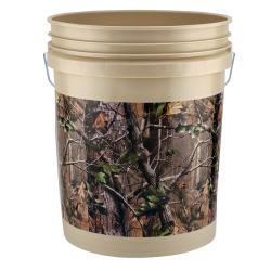 Leaktite ® Realtree ® APG Green 5 Gallon Bucket