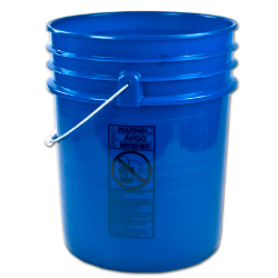 Letica ® Premium Blue 5 Gallon Bucket