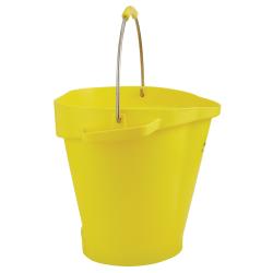 Vikan ® Polypropylene Yellow 5 Gallon Pail