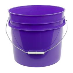 Purple 3.5 Gallon HDPE Bucket