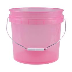 Leaktite ® Translucent Pink 3.5 Gallon Pail