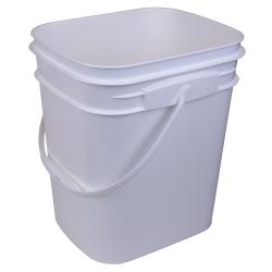 4.25 Gallon Rectangular Tamper Evident Bucket