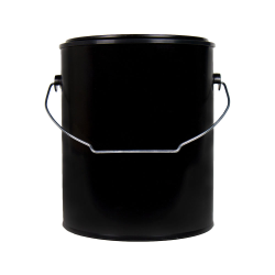 Dual-Seal ® Black 1 Gallon Paint Can with Handle (Lids sold separately)
