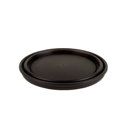 Dual-Seal ® Black 1 Gallon Paint Can Lid