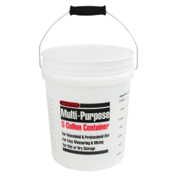 5 Gallon Measuring Pail with Handle & Grip