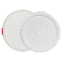 2 & 2.5 Gallon Lite Latch ® White Cover