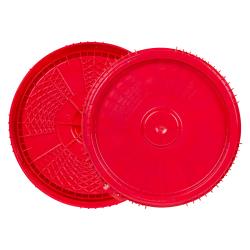 3, 3.5, 5 & 6.5 Gallon Lite Latch ® Red Cover