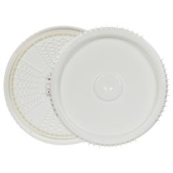 3, 3.5, 5 & 6.5 Gallon Lite Latch ® White Cover