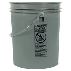 Letica ® Standard Gray 5 Gallon Bucket