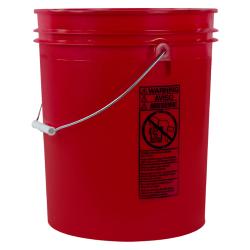 Letica ® Standard Red 5 Gallon Bucket