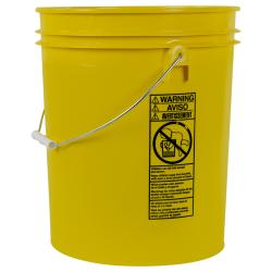 Letica ® Standard Yellow 5 Gallon Bucket