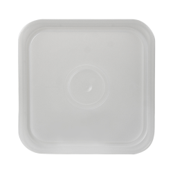 3-1/2, 4 & 4-1/4 Gallon Natural HDPE Square Lid