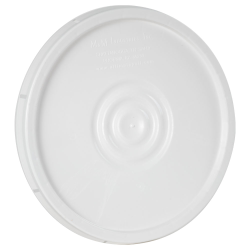 White UN Rated Tear Tab Lid for 2 Gallon Pail