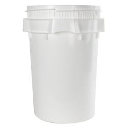 Life Latch ® White 10.7 Gallon Plastic Drum
