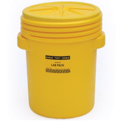 20 Gallon Lab Pack Poly Drum with Screw On Lid