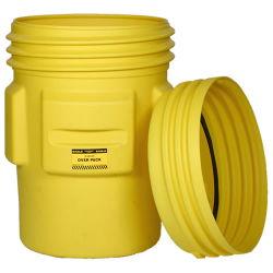 95 Gallon Overpack Poly Drum with Screw On Lid