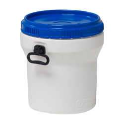 7.9 Gallon Nestable UN Rated HDPE Drum w/ Lid