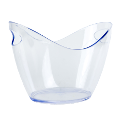 8 Liter Clear Premium Ice Bucket