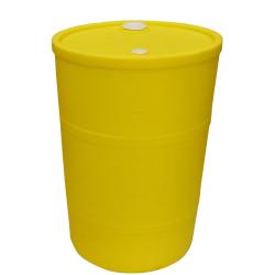 "30 Gallon Yellow Closed Head Drum 18.375"" Dia. x 30.25"" Hgt."