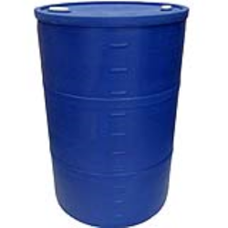 """55 Gallon Blue Closed Head Drum 23.25"""" Dia. x 35"""" Hgt."""