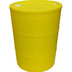 "55 Gallon Yellow Closed Head Drum 23.25"" Dia. x 35"" Hgt."