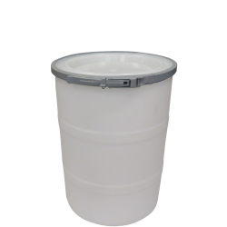"""15 Gallon Natural Open Head Drum 17.875"""" Dia. with Band x 22.5"""" Hgt."""