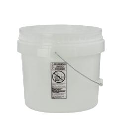 Natural 3-1/2 Gallon SmartPak ® Medium Duty HDPE Bucket