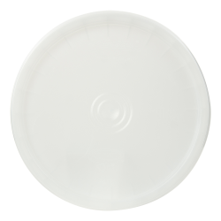 White 2 Gallon SmartPak ® Lid with Tear Tab