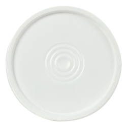 White 3-1/2 to 5 Gallon SmartPak ® Lid with Tear Tab