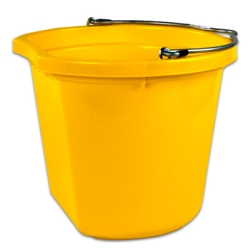 20 Quart Yellow Bucket