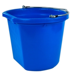 8 Quart Blue Bucket