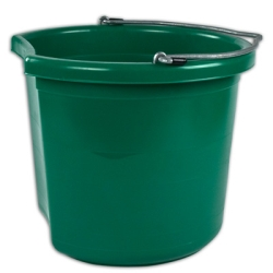 24 Quart Green Bucket