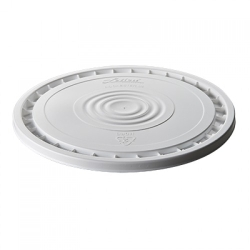 Letica ® White Peel Off Reusable Lid