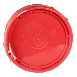 Red Lid for 2 & 2.5 Gallon Containers