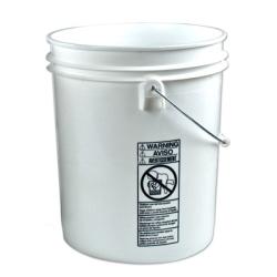 Letica ® Standard White 5 Gallon Bucket