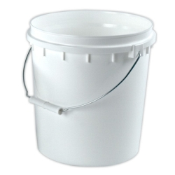 VaporLock White 2 Gallon Bucket (Lid Sold Separately)