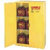 "30 Gallon Sliding Door Safety Cabinet, 1 Shelf - 43"" x 18"" x 44"""