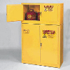 "15 Gallon Storage Cabinet - 43"" x 18"" x 22-1/4"""